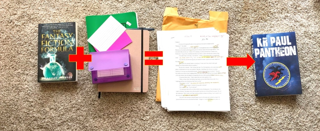 Framing, to index cards, to written drafts, to published!